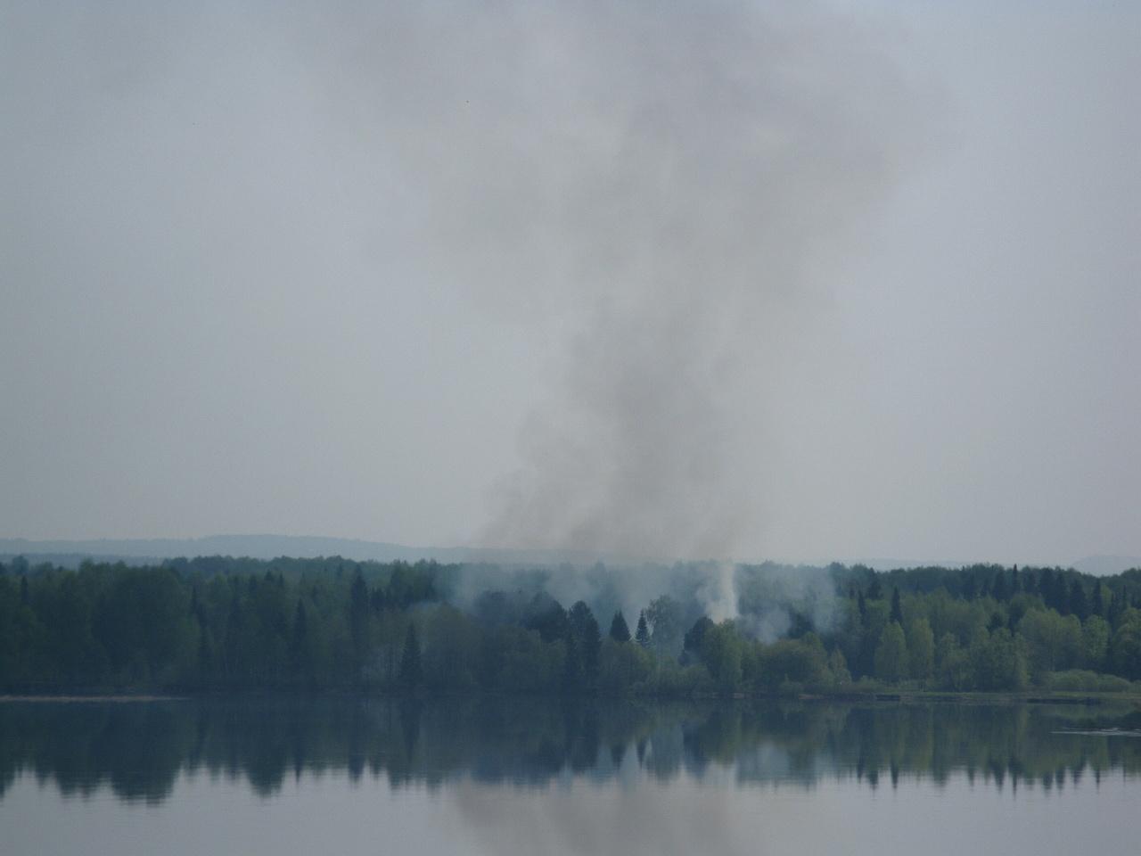 Пожар за Камой