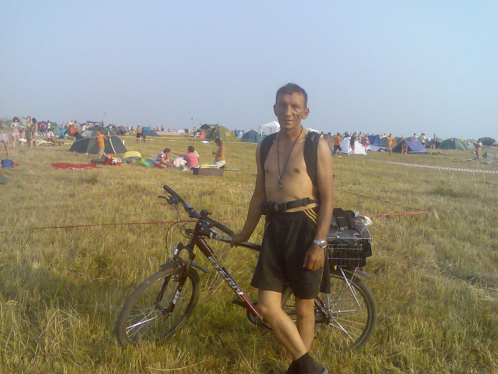 на фистиваль зов Пармы на велосипеде(160км)