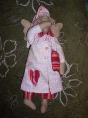 Интерьерная кукла Тильда Сонный ангел
