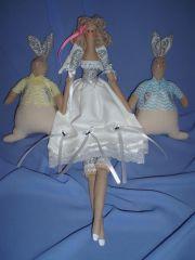 Тильда кролики и фея