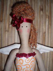 Интерьерная кукла тильда. Фея.
