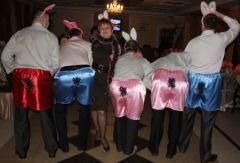 Кролик-шоу для юбиляра!
