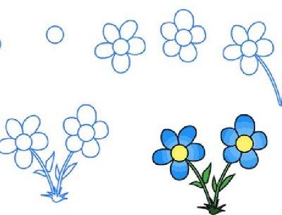 Прикрепленное изображение: нарисованный цветок.jpg