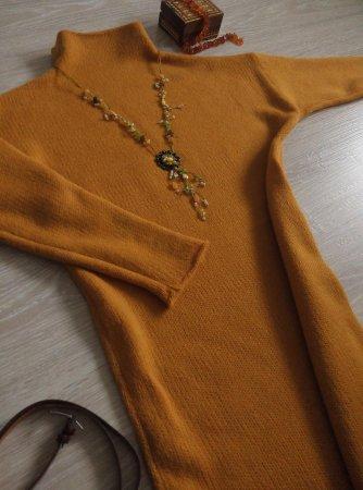 Прикрепленное изображение: платье горчица.jpg